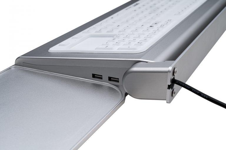 Teclado Cleantype® Prime Panel+ (suporte de parede)