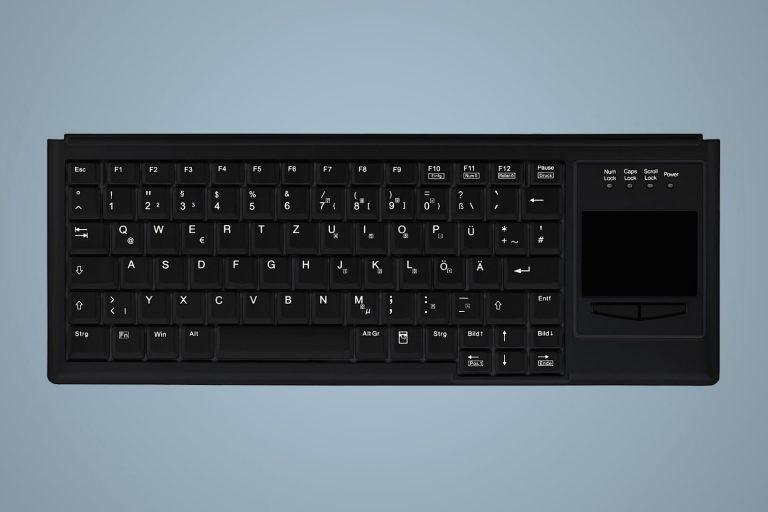 Teclado de Escritório com Touchpad
