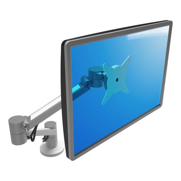 Braço de monitor com profundidade e altura - Mesa Plus
