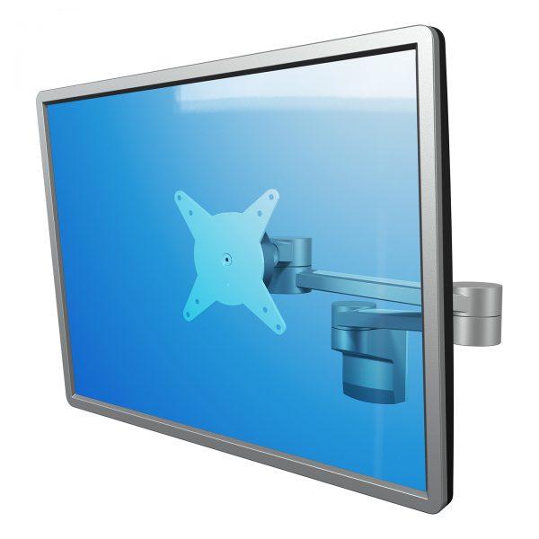 Braço de monitor com profundidade - Parede