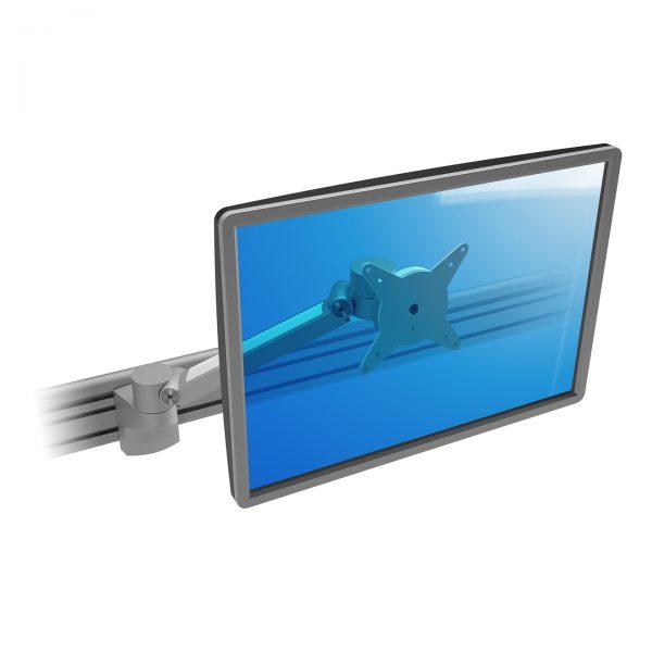 Braço de monitor com profundidade - Calha Plus