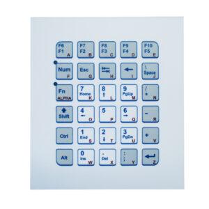 Keypad Industrial (montagem frontal)
