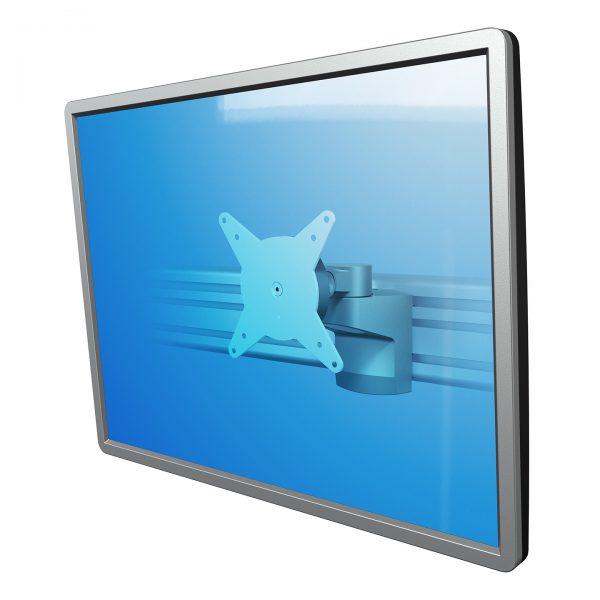 Braço de monitor sem profundidade - Calha