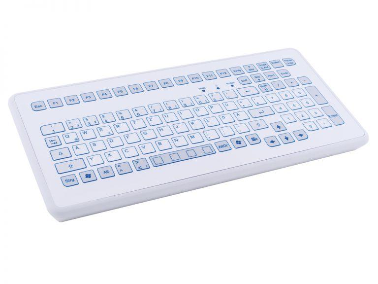 Teclado Industrial com Keypad (Desktop compacto)