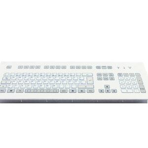 Teclado Industrial com Keypad (montagem frontal)